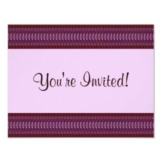 Crimson Hearts 9024b 4.25x5.5 Paper Invitation Card