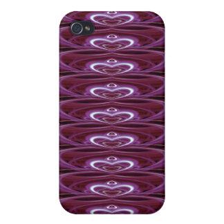 Crimson Hearts 9024b Case For iPhone 4