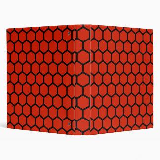 Crimson Hexagon 4 Binder