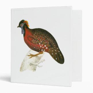 Crimson Horned Pheasant Binder