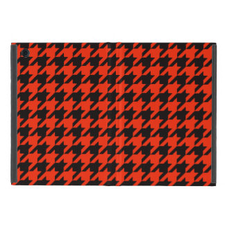 Crimson Houndstooth 2 Case For iPad Mini