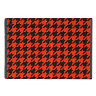 Crimson Houndstooth 2 iPad Mini Covers