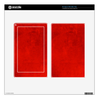 Crimson Magic Kindle Fire Skin