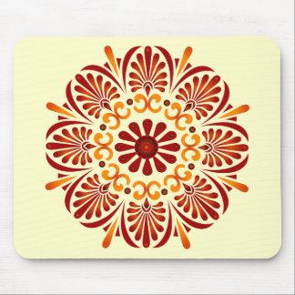 Crimson Mandala Mousepad