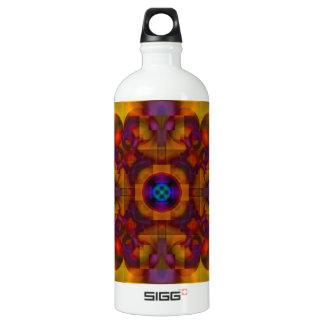 Crimson Mantra 4 Hot Abstract Aluminum Water Bottle