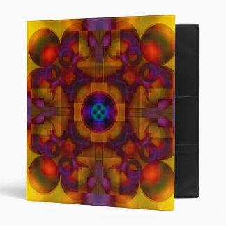 Crimson Mantra 4 Hot Abstract Binder