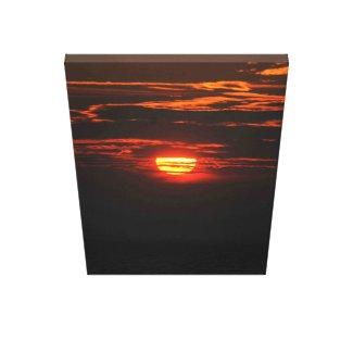 Crimson Noire Sky's Sunset