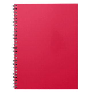 Crimson Spiral Note Books