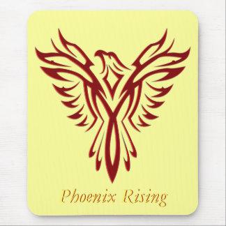 Crimson Phoenix Rising Mouse Pad