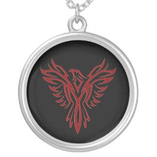 Crimson Phoenix Rising Custom Necklace