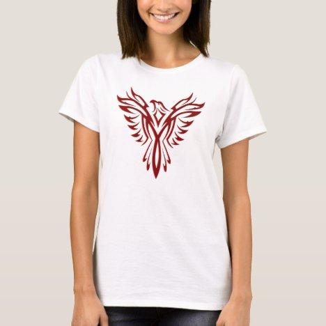 Crimson Phoenix Rising T-Shirt