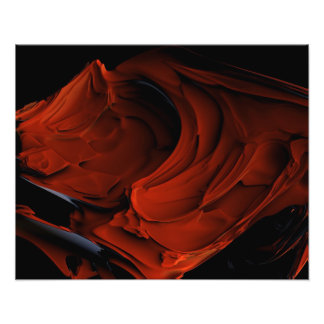 Crimson Photo Print
