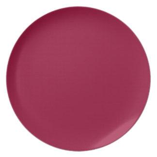 Crimson Rebellion Dinner Plate