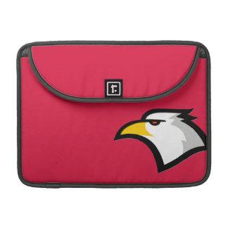Crimson Red Bald Eagle MacBook Pro Sleeve