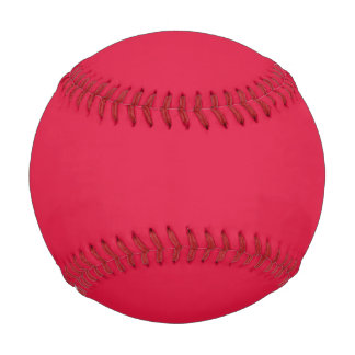 Crimson Red Baseball