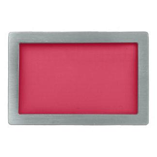 Crimson Red Belt Buckle