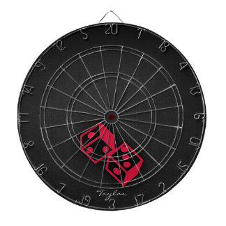 Crimson Red Casino Dice Dartboards