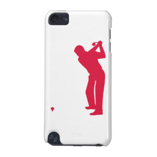Crimson Red Golf iPod Touch (5th Generation) Case