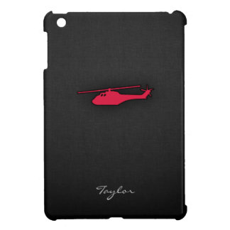 Crimson Red Helicopter Case For The iPad Mini