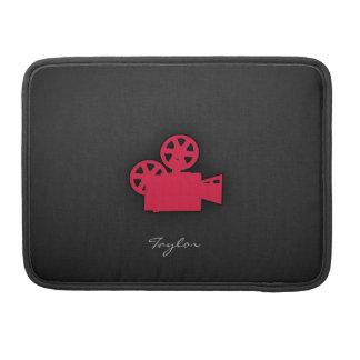 Crimson Red Movie Camera MacBook Pro Sleeve