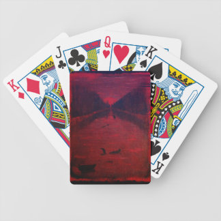 Crimson River Bicycle Playing Cards