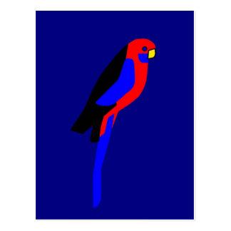 Crimson Rosala - Australian Parrot Postcard