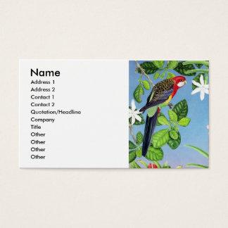 Crimson Roa Business Card