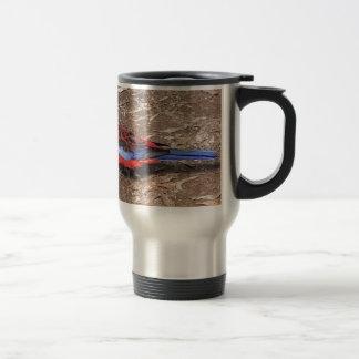 Crimson Rosella Travel Mug