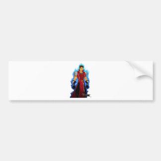 Crimson Royal Bumper Sticker