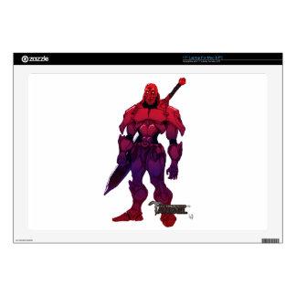 "Crimson Royal-CLASS-Captain Decal For 17"" Laptop"