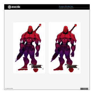 Crimson Royal-CLASS-Captain Skins For Kindle Fire