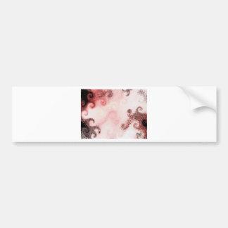 Crimson Scarf Bumper Sticker