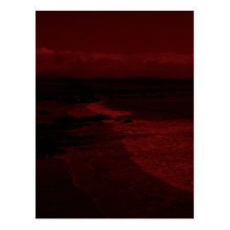 Crimson sea postcard