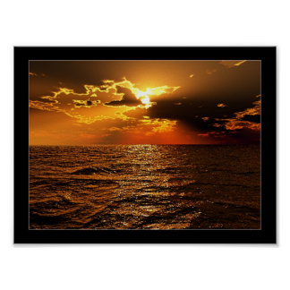 Crimson Sea Print