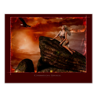 Crimson Skies Poster
