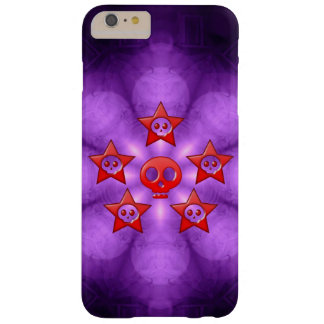Crimson Skulls Barely There iPhone 6 Plus Case