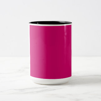 Crimson Template Two-Tone Coffee Mug