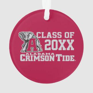 Crimson Tide Class Year w/ Big Al Ornament