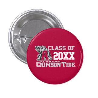 Crimson Tide Class Year w/ Big Al Pinback Button