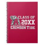 Crimson Tide Class Year w/ Big Al Spiral Notebook