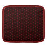 Crimson vintage Damask Designer - iPad sleeve