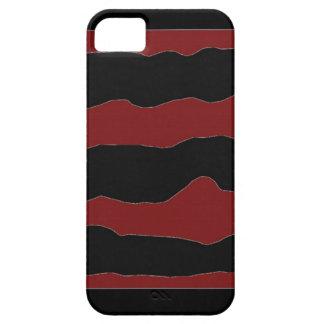 Crimson Waves iPhone SE/5/5s Case