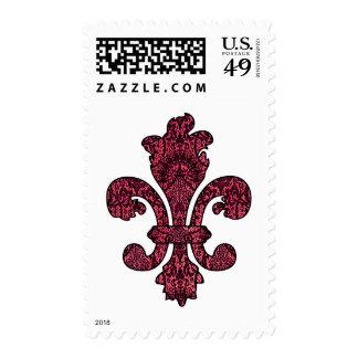Crimson Wine Goth Postage Stamps