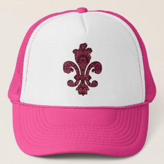 Crimson Wine Goth Trucker Hat