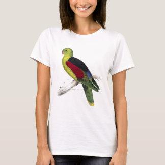 Crimson-Winged Parrakeet (Male adult) by Edward Le T-Shirt