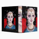 Crimson Wings Angel Vinyl Binder