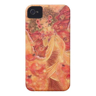 Crimson Wings Fairy Fantasy Blackberry Case