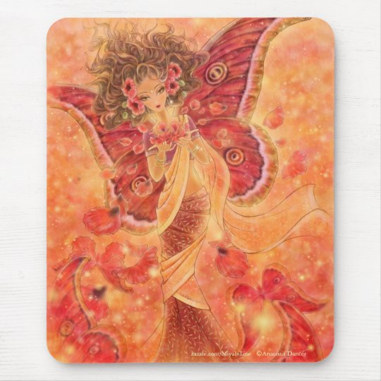 Crimson Wings Mousepad