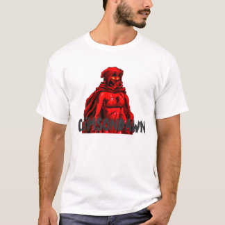 CRIMSONGIRL, CRIMSONDAWN white T-Shirt