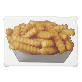 Crinkle-cut french fries case for the iPad mini